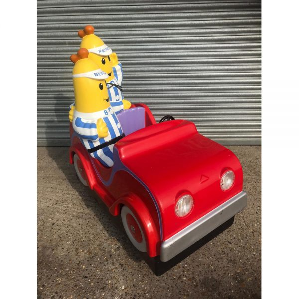 A lovely colourful little ride, children can ride alongside The Bananas and sing along to the datchy tunes. Sold in good, used condition, straight from one of our operating sites.